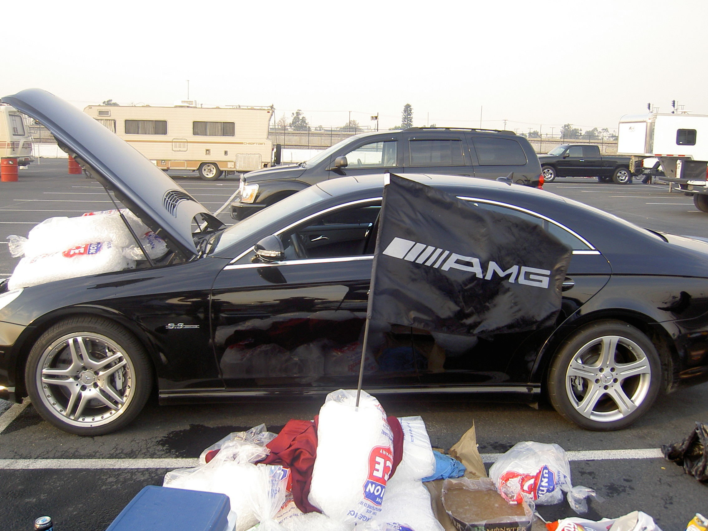 2007  Mercedes-Benz CLS63 AMG  picture, mods, upgrades
