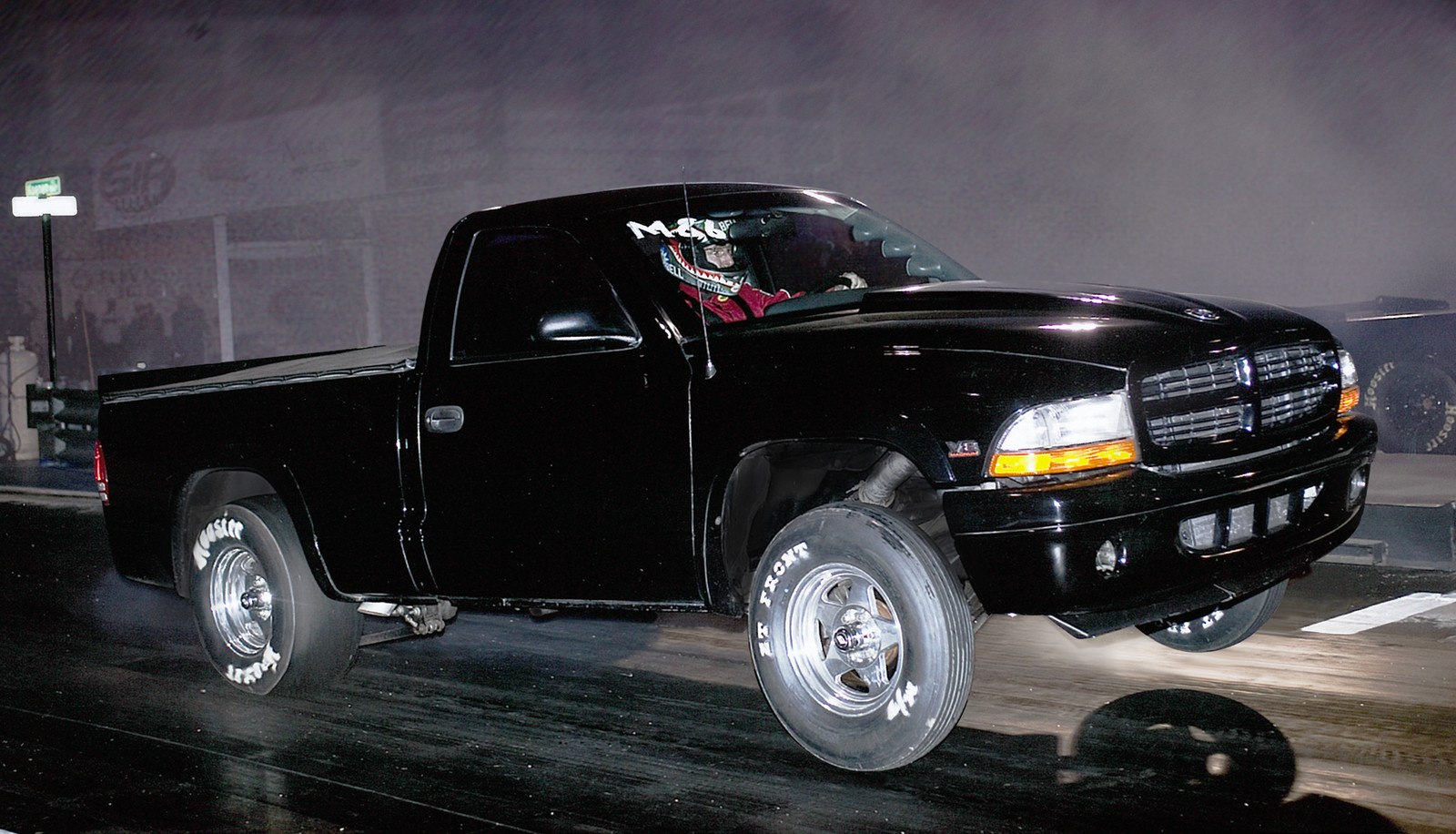 Black 1999 Dodge Dakota R/T RC Turbo