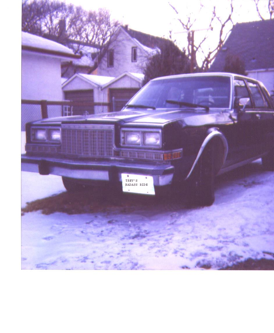 1984 Plymouth Caravelle salon