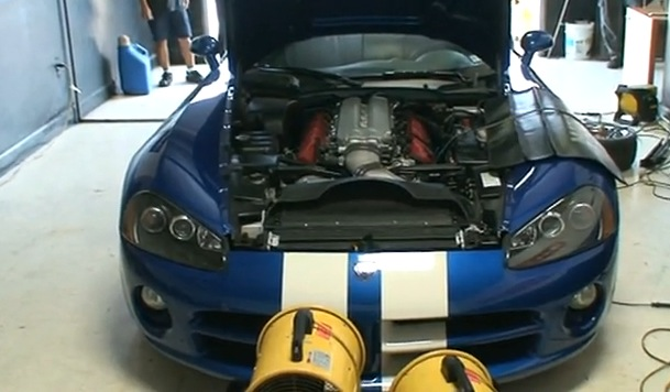 2006 Dodge Viper SRT10 Paxton Supercharger
