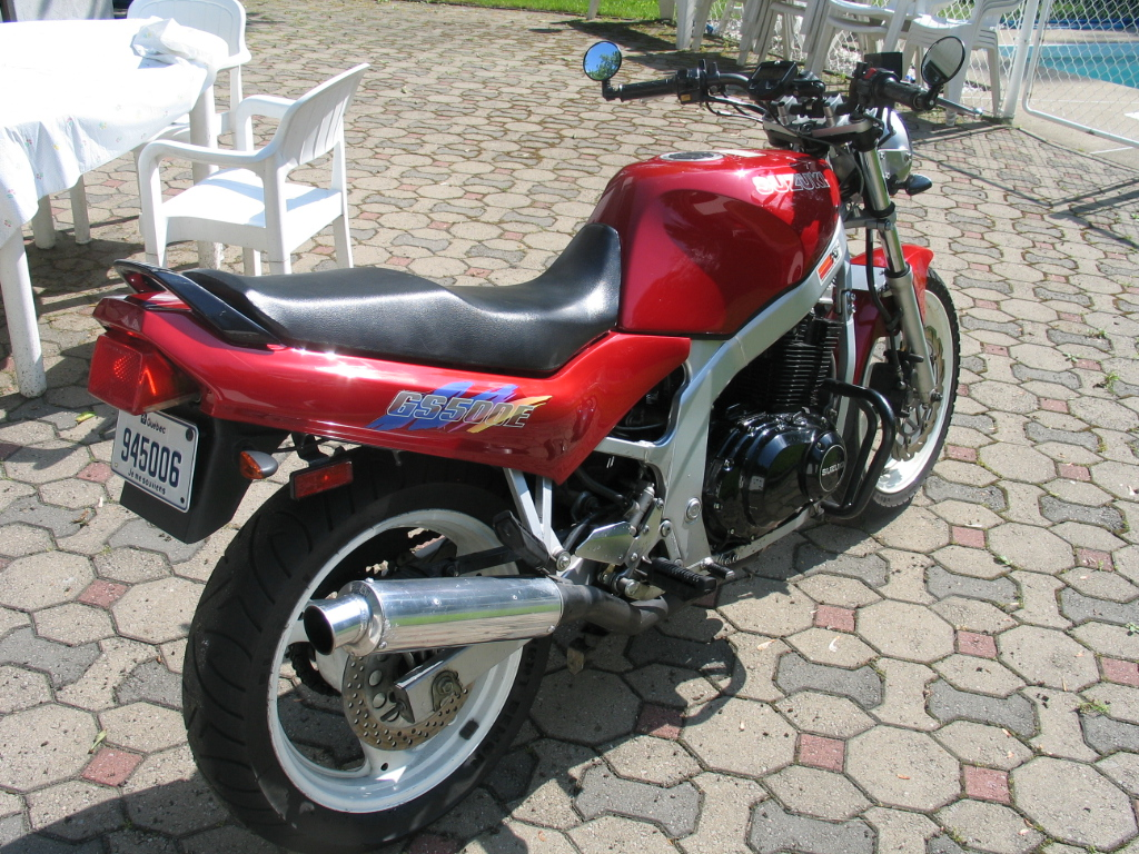 1994 Suzuki Motorcycle GS500e