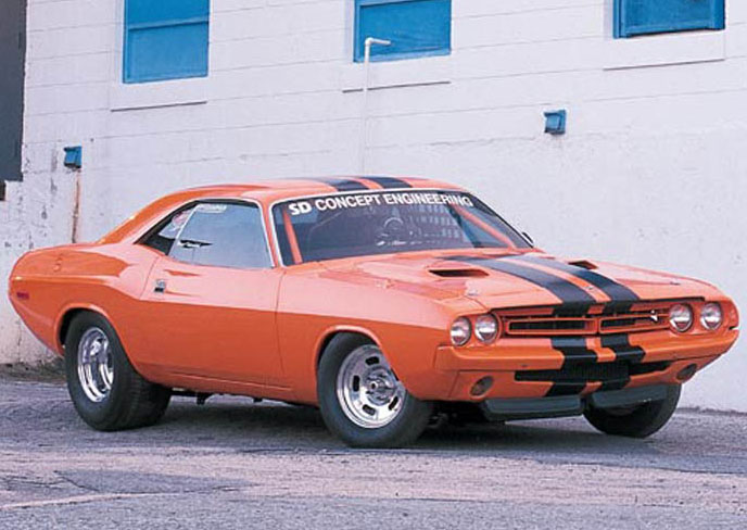 1973 Dodge Challenger 383 ATI D3M ProCharger