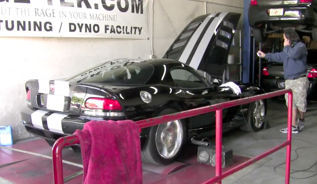 2008 Dodge Viper Belanger Headers Exhaust