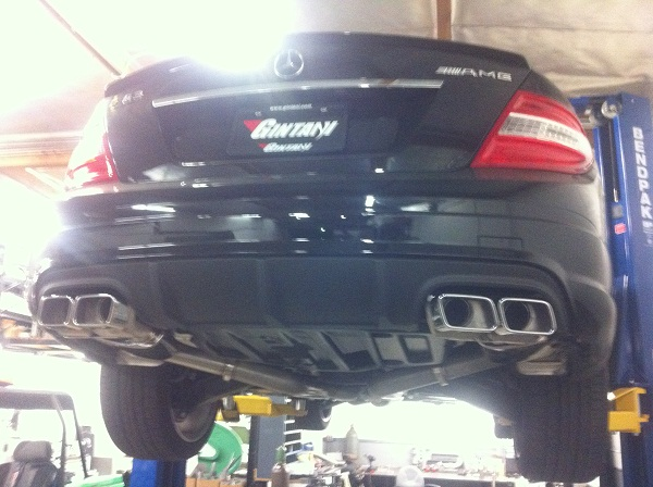 2011 Mercedes-Benz C63 AMG OE Tuning Stg2, Gintani Headers & Exhaust