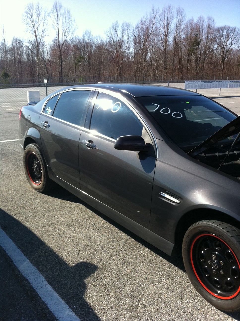 2008 Grey Pontiac G8 GT Supercharged TVS1900 picture, mods, upgrades