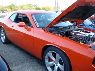 Hemi Orange 2008 Dodge Challenger SRT8 Kenne Bell Supercharged