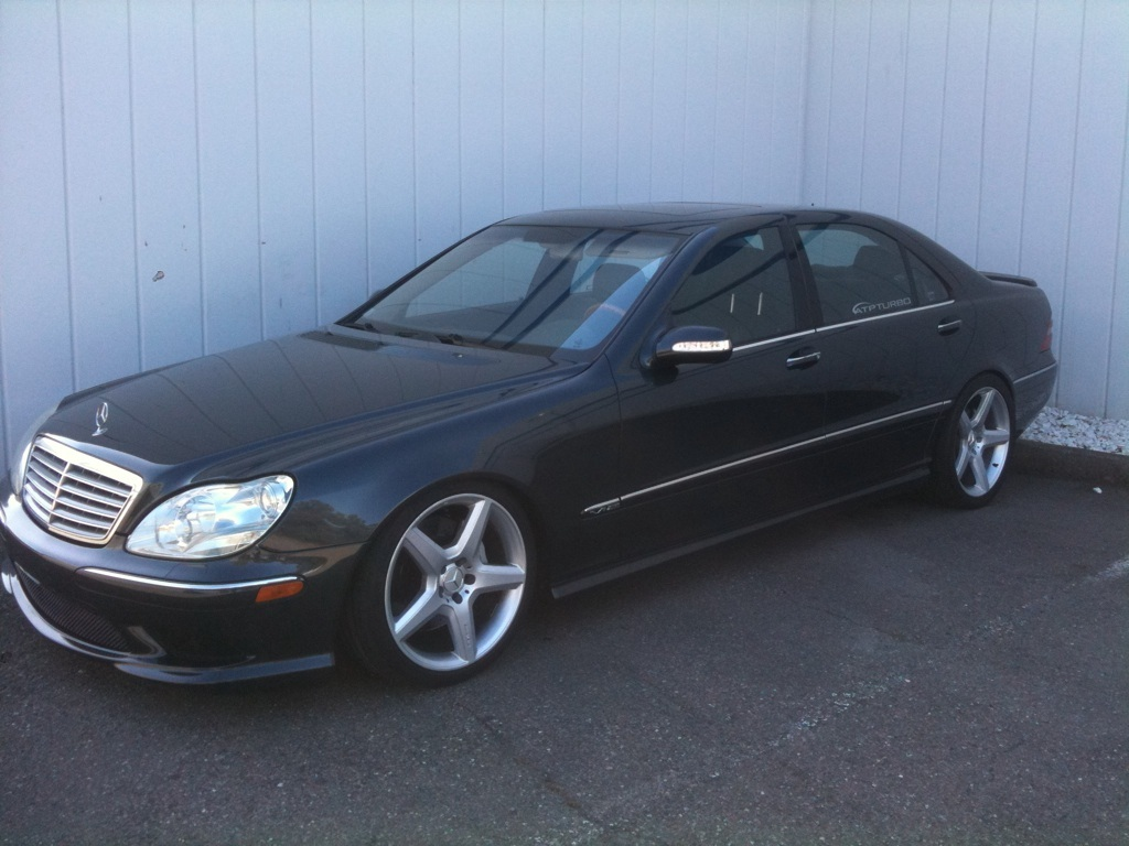 Dark Grey 2003 Mercedes-Benz S600