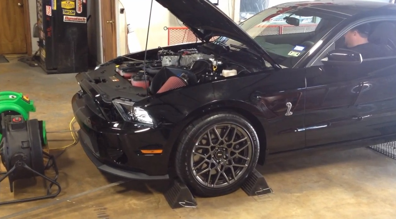 Black 2013 Ford Mustang Shelby-GT500