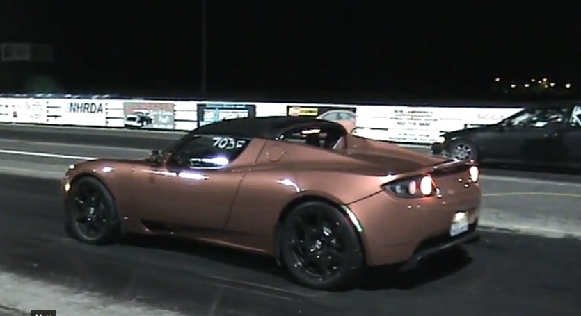 Electric Car 2010 Tesla Roadster