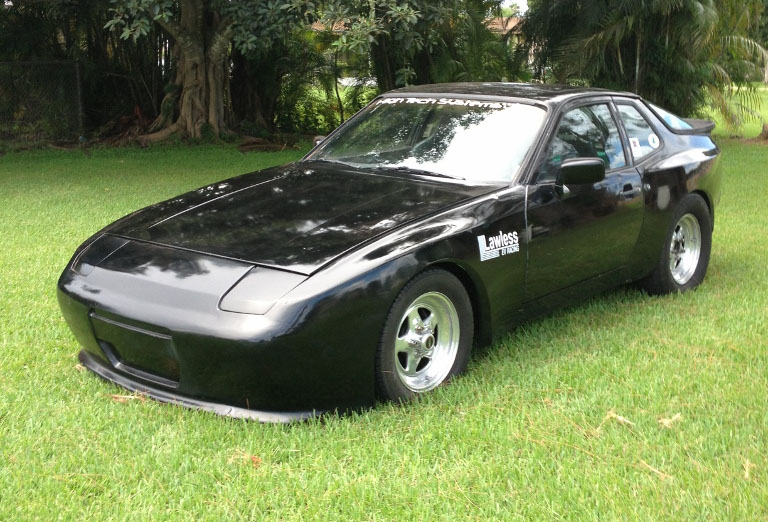 Electric Car 1984 Porsche 944 Electric