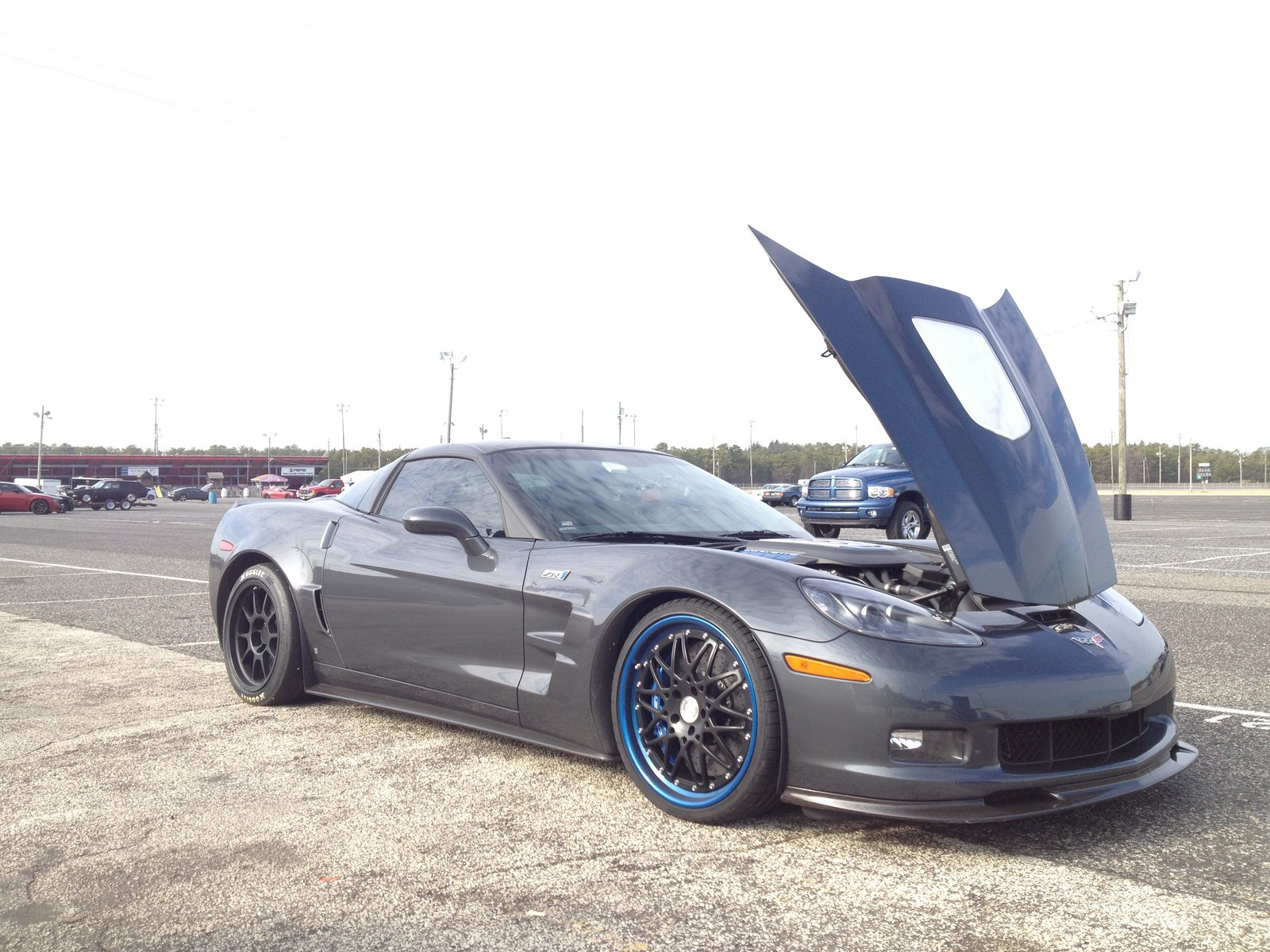 2009 Cyber Grey Chevrolet Corvette ZR1 Header Tune picture, mods, upgrades