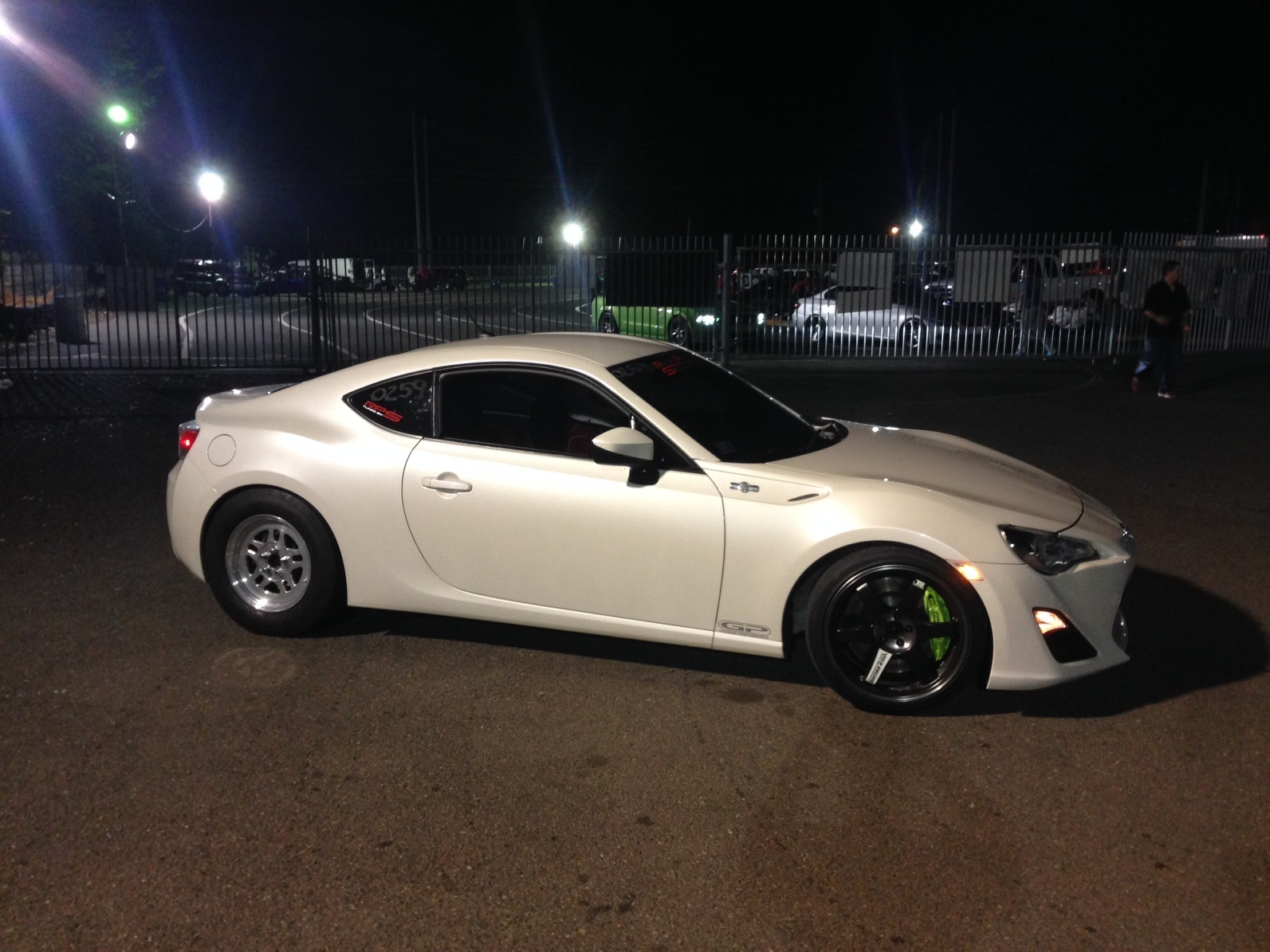 White 2013 Subaru BRZ FRS 35R Turbo