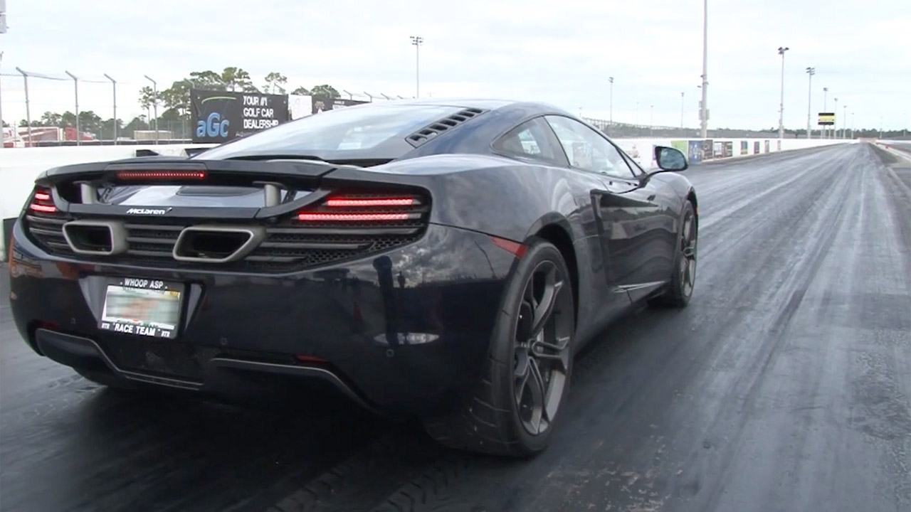 Black 2012 McLaren MP4-12C ECU Tune