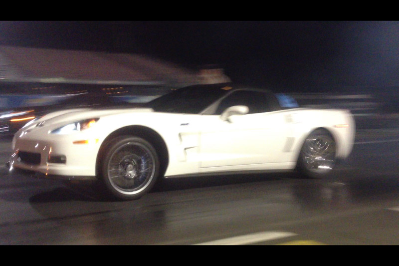 Arctic White 2010 Chevrolet Corvette ZR1 3ZR