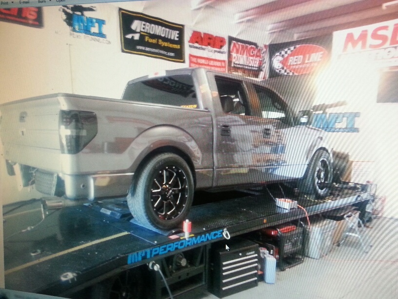 grey 2011 Ford F150 Roush f150