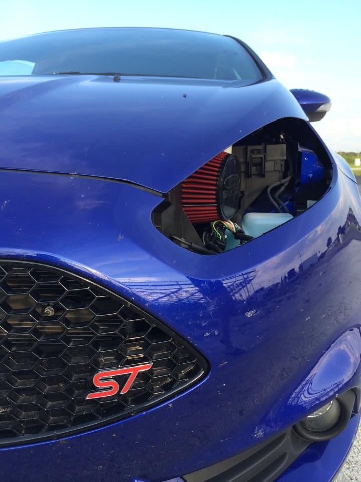 2014 PerfBlue Ford Fiesta ST picture, mods, upgrades