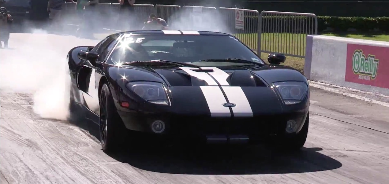 Black 2005 Ford GT Twin Turbo Supercharged Nitrous M2K Motorsports