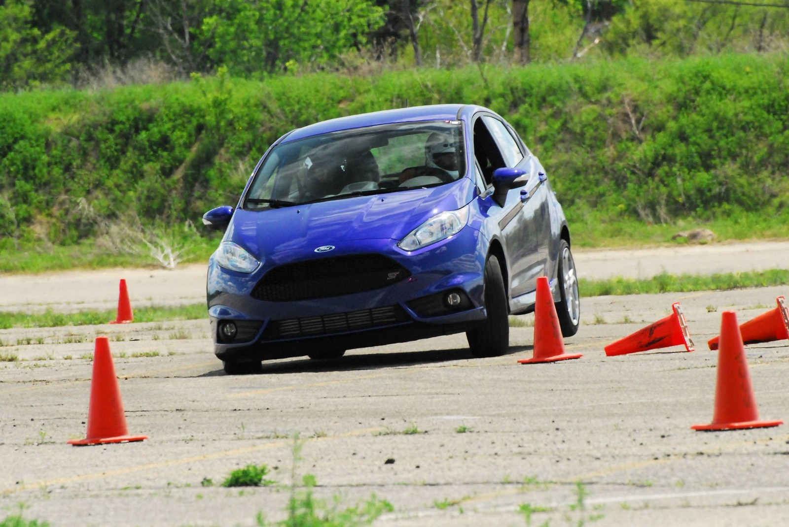 2014 Performance Blue Ford Fiesta ST picture, mods, upgrades