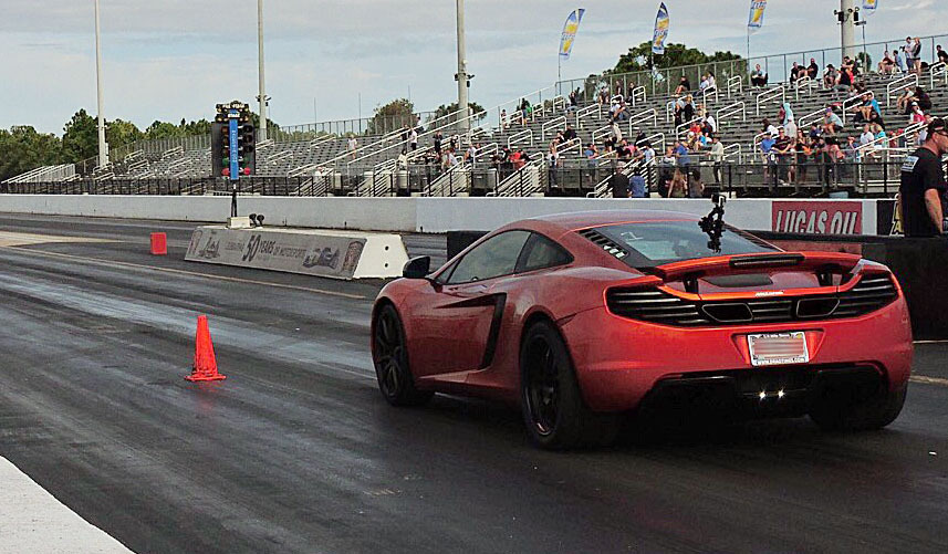 2012 Volcano Orange McLaren MP4-12C AMS Tune picture, mods, upgrades