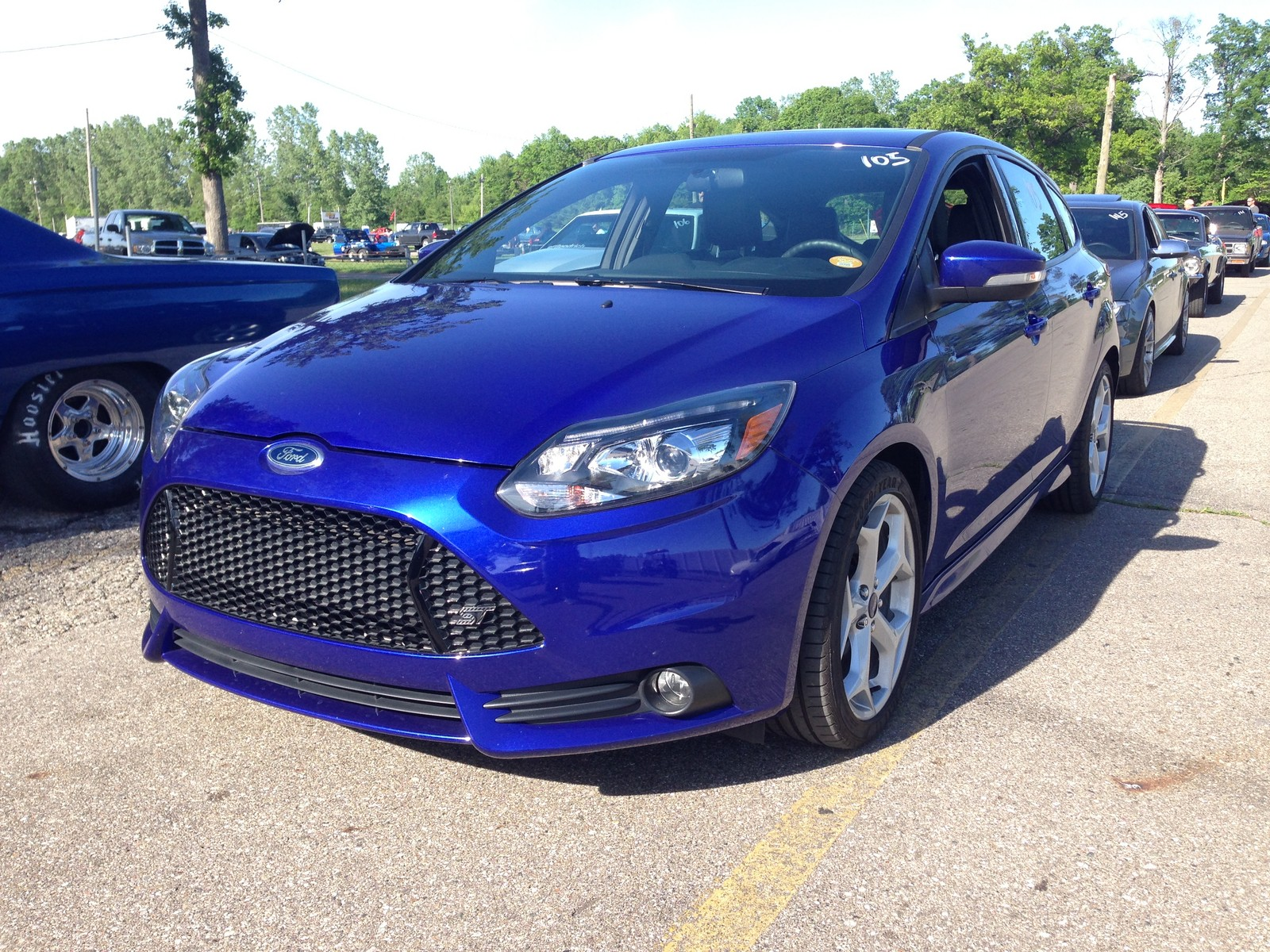 Stock 2014 Ford Focus ST 1 4 mile trap speeds 0 60