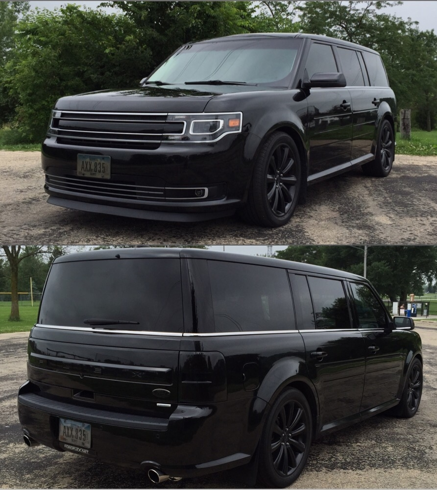 2013 Ford Flex Limited Ecoboost 1 4 mile Drag Racing