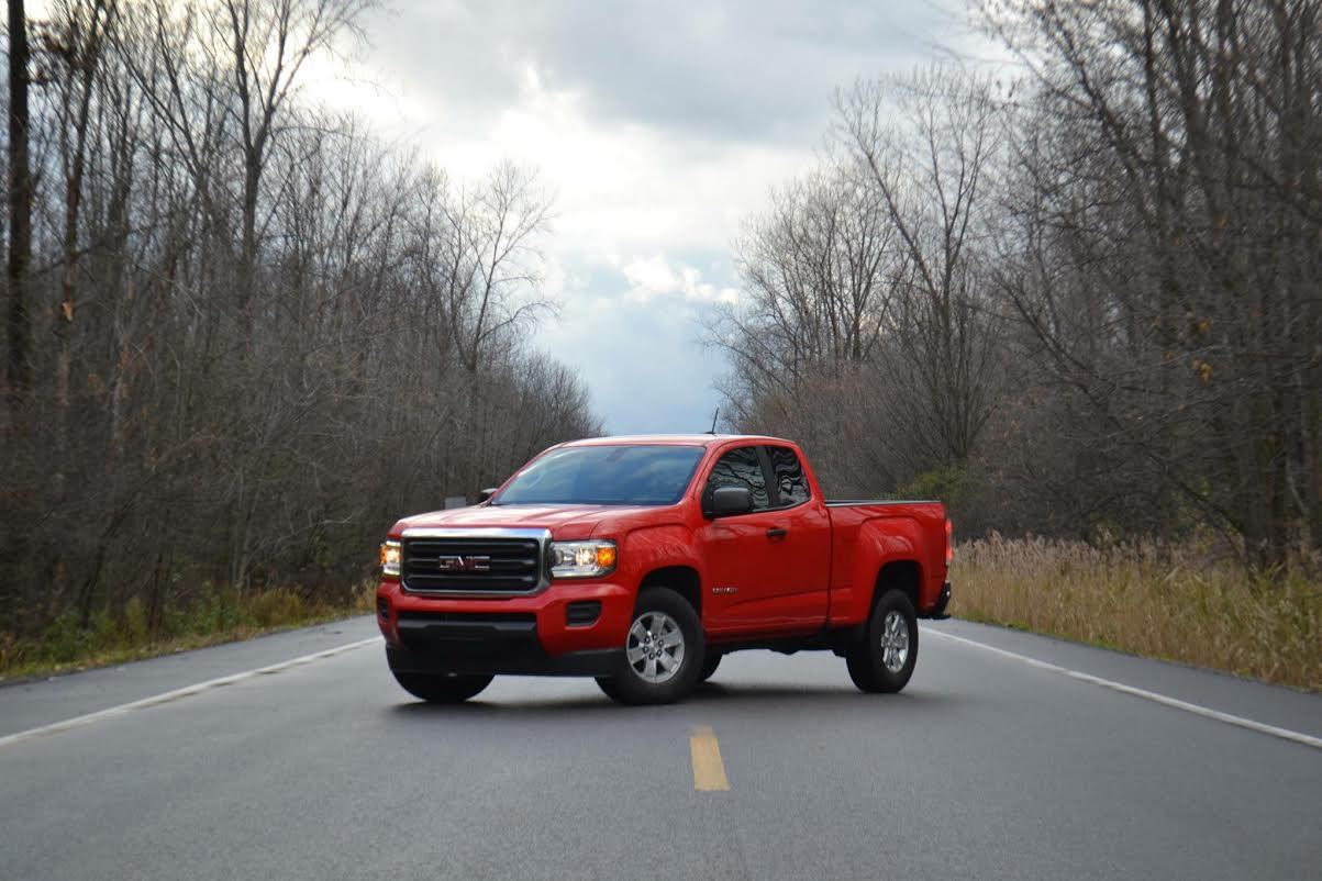 Cardinal red 2016 GMC Canyon