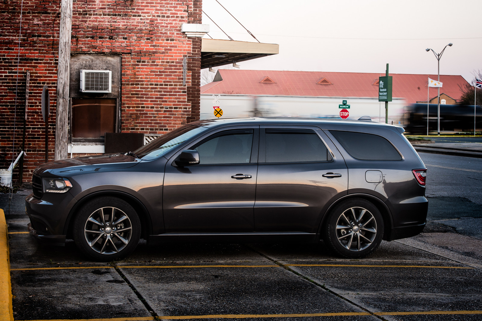 Gray 2014 Dodge Durango RT