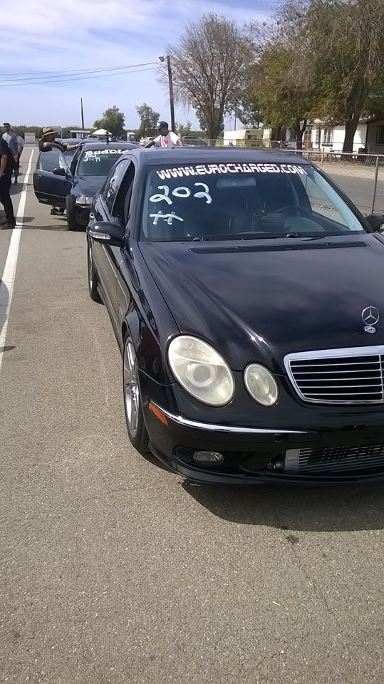 BLACK 2006 Mercedes-Benz E55 AMG