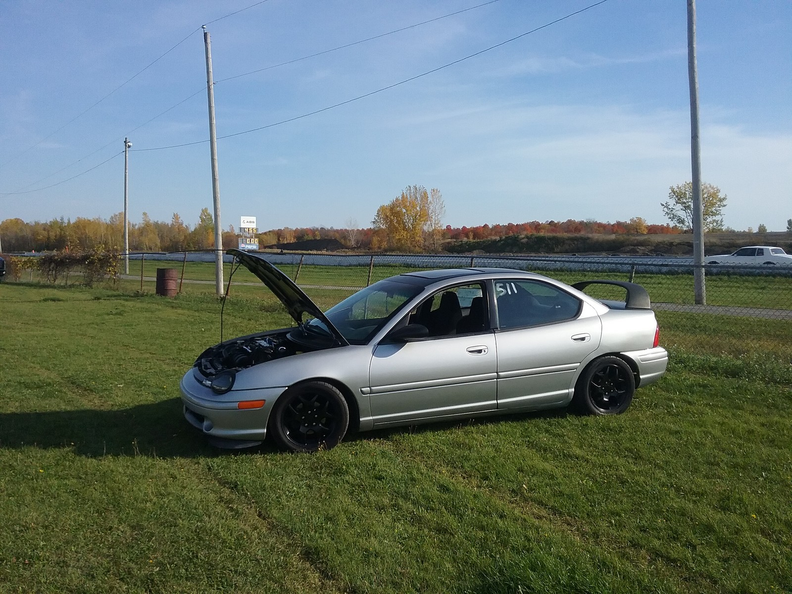 1998 Silver  Dodge Neon Sport sedan picture, mods, upgrades
