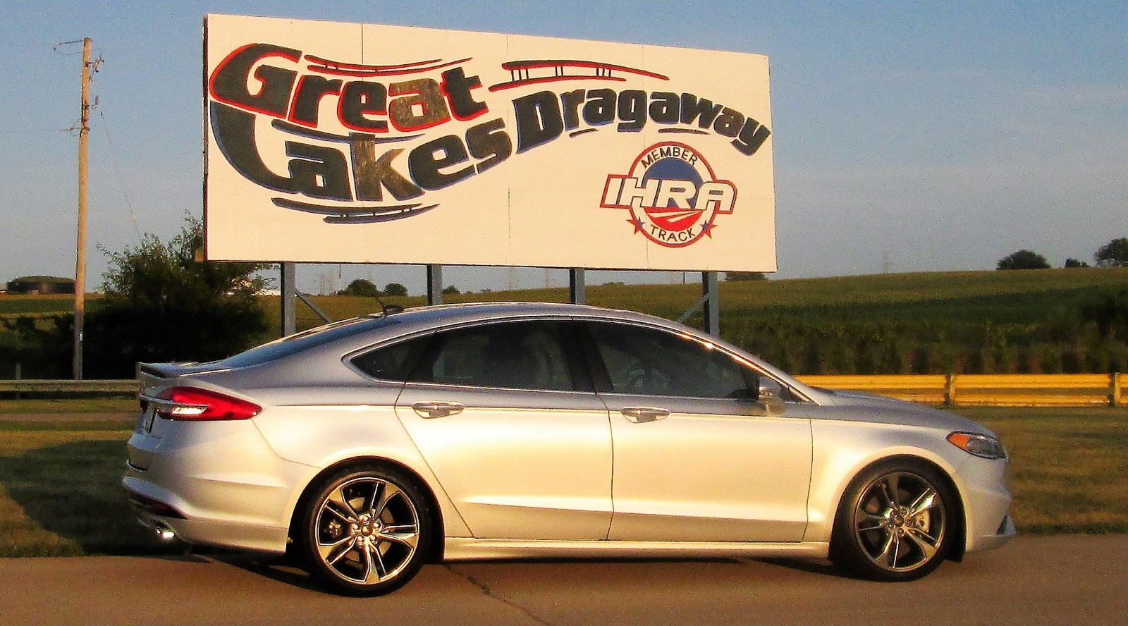 2017 Ford Fusion Sport 1 4 mile Drag Racing timeslip specs