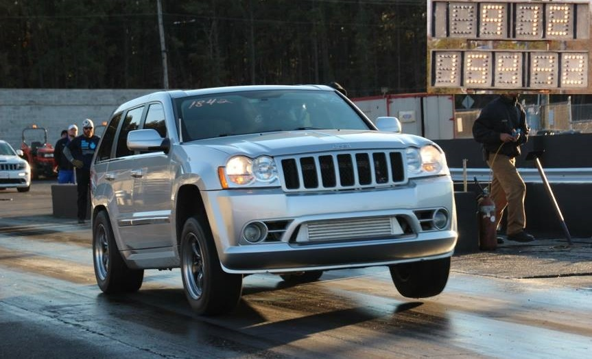 2006 jeep cherokee srt8 1 4 mile drag racing timeslip. Black Bedroom Furniture Sets. Home Design Ideas