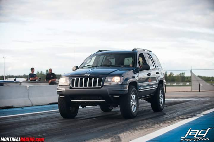 blue 2004 Jeep Grand Cherokee Columbia 4.7 HO
