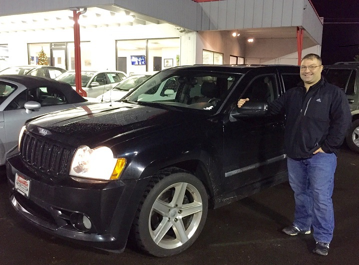 Black 2007 Jeep Cherokee SRT8 WK1 6.1L