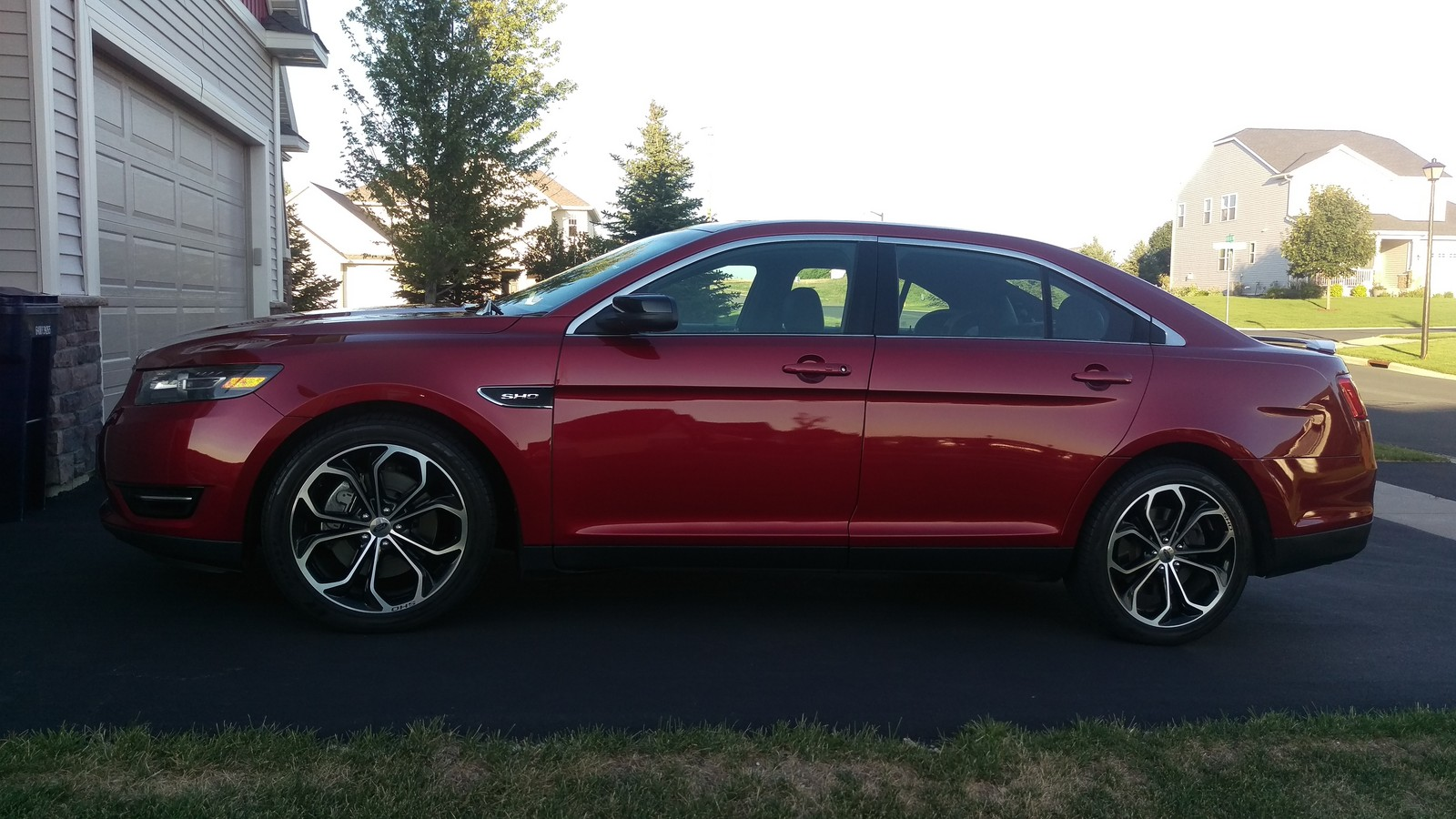 Ruby Red 2015 Ford Taurus SHO