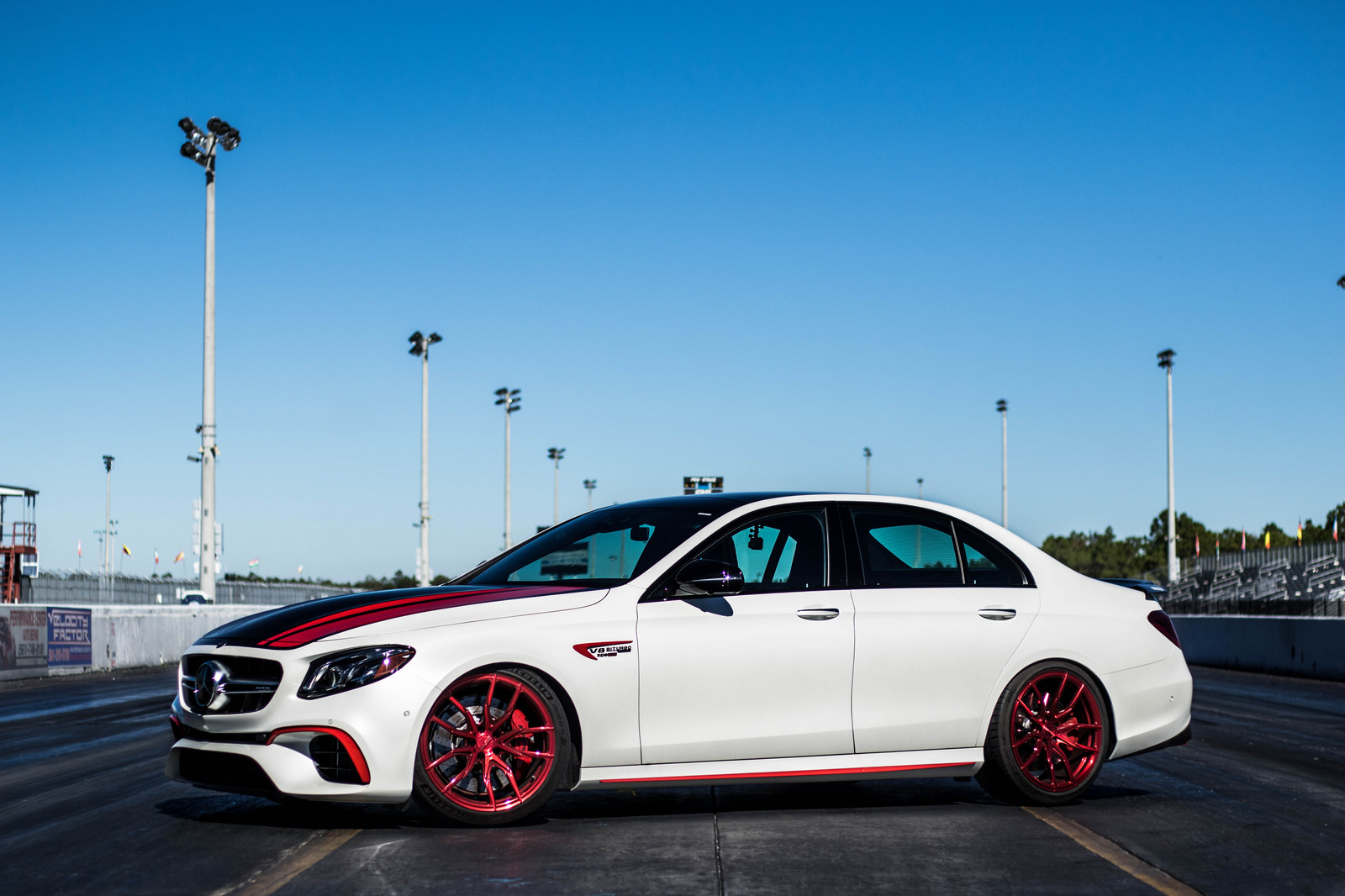 White 2018 Mercedes-Benz E63 AMG S