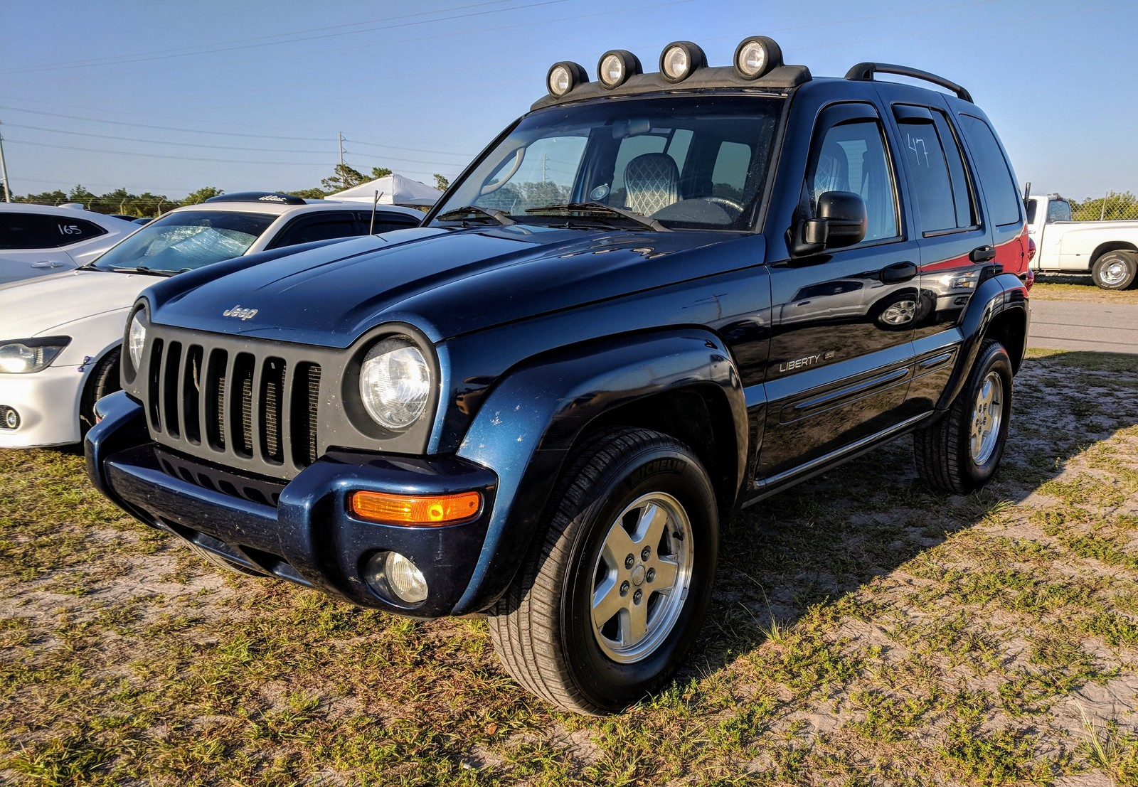 Metallic Blue 2002 Jeep Liberty Limited