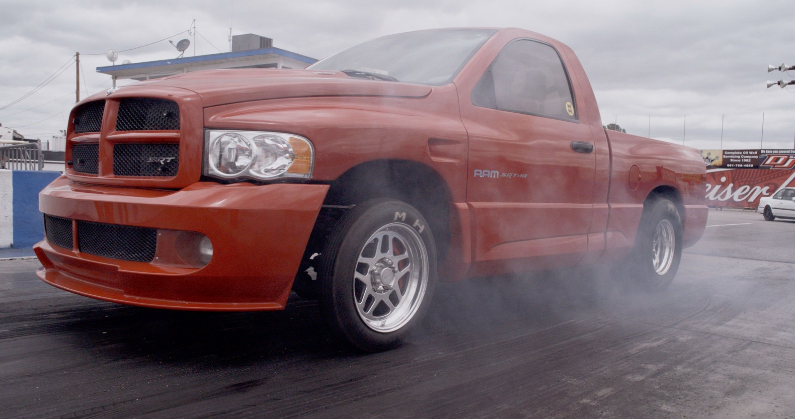 Red 2004 Dodge RAM SRT10 NA