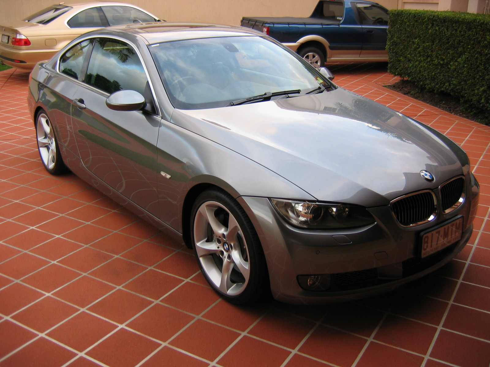 2007 Space Grey BMW 335i Coupe picture, mods, upgrades
