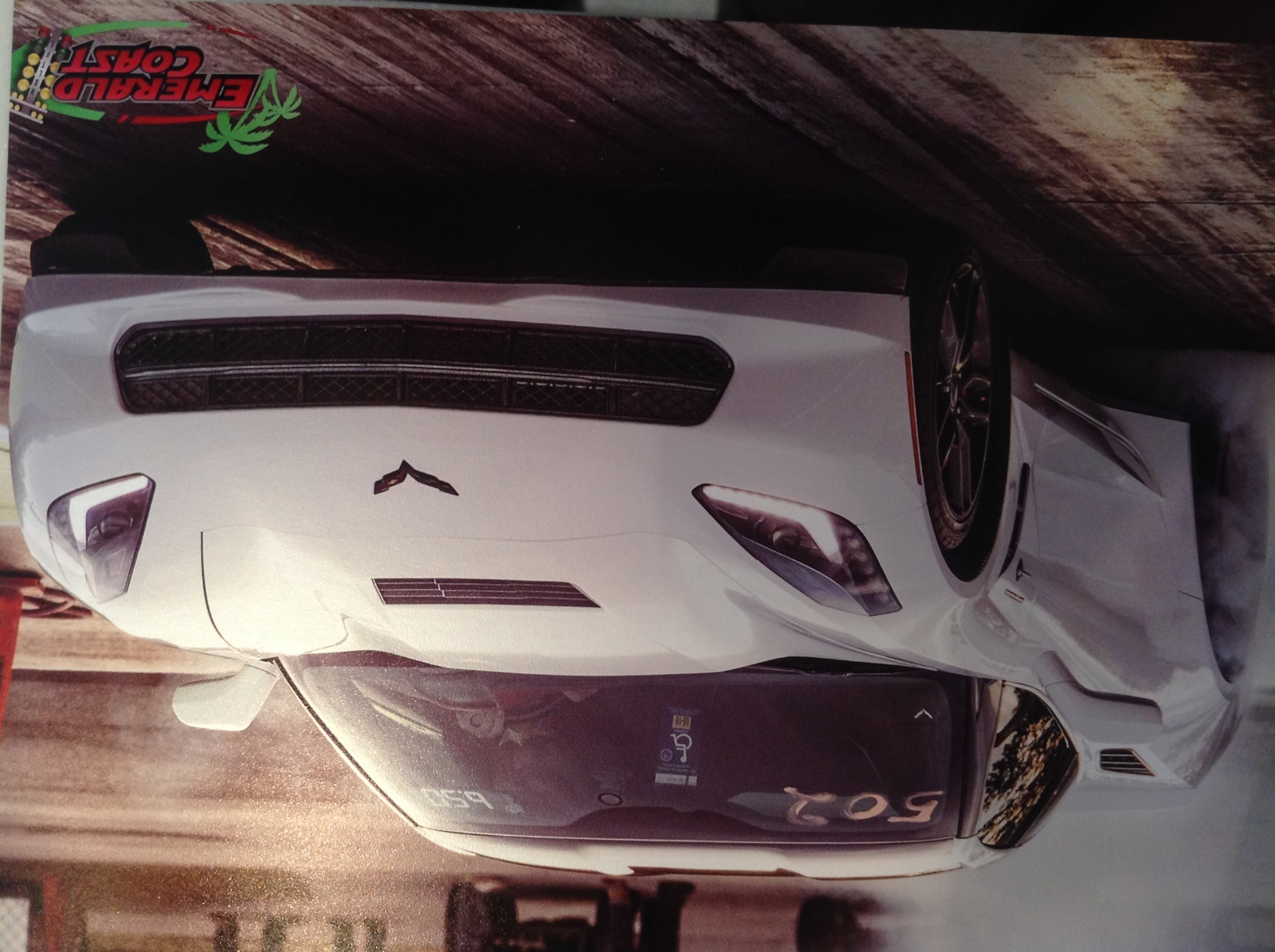 2014 White Chevrolet Corvette Z51 picture, mods, upgrades