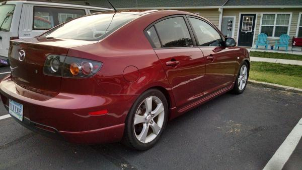 Copper Red Mica 2006 Mazda 3 GT