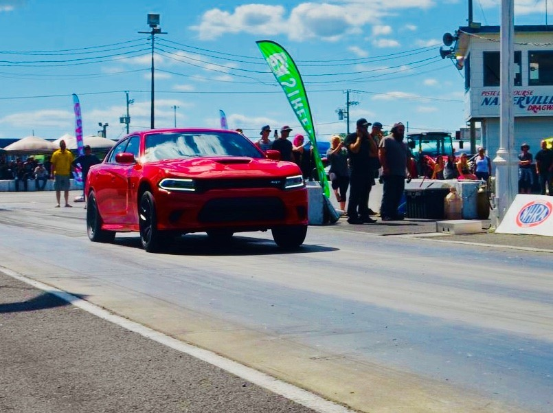 Red 2016 Dodge Charger Hellcat