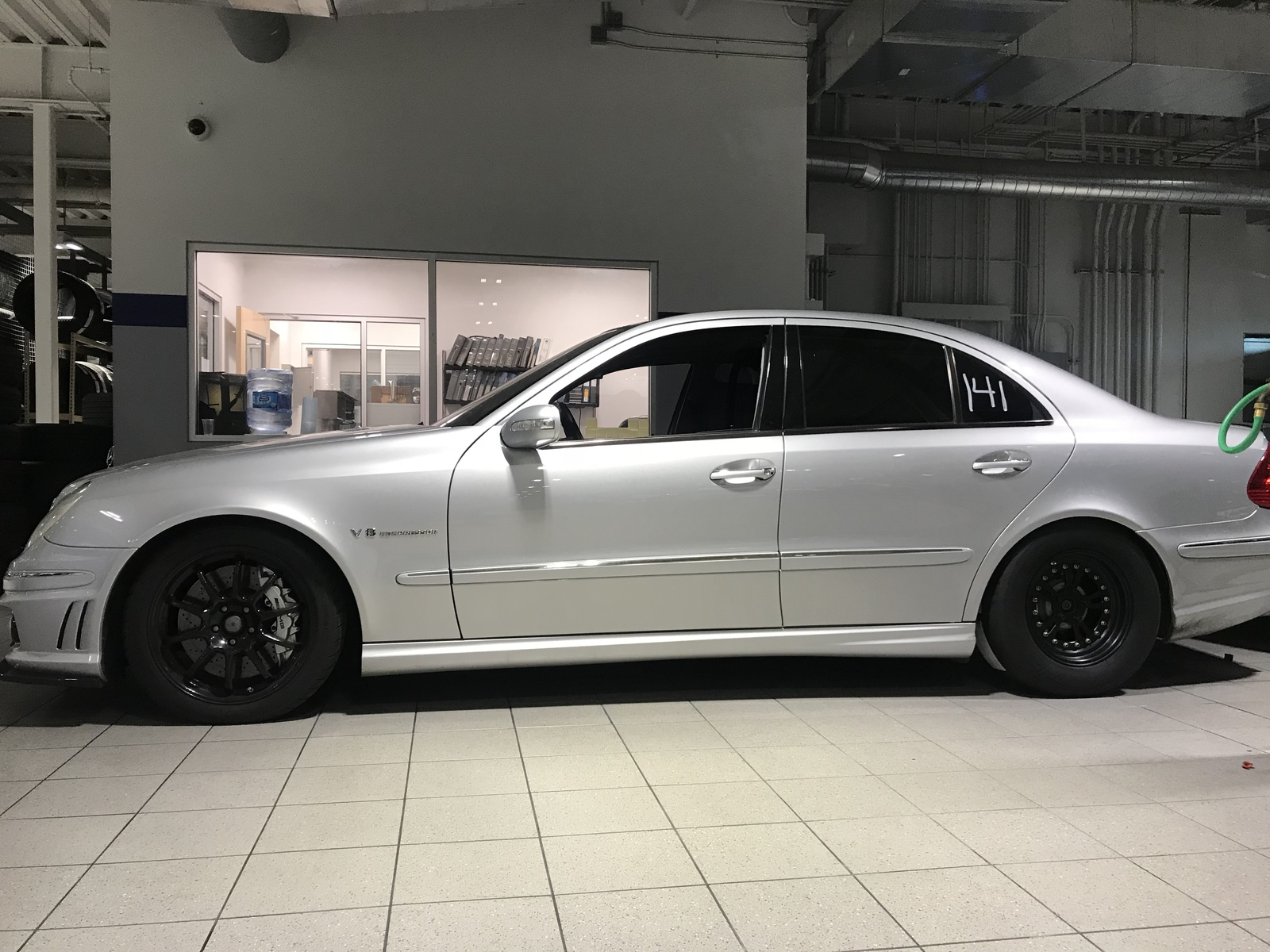 2006 Silver Mercedes-Benz E55 AMG  picture, mods, upgrades