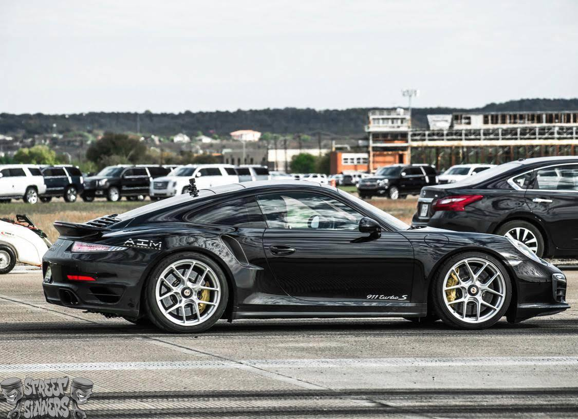 Black 2014 Porsche 911 Turbo 991.1 Turbo S