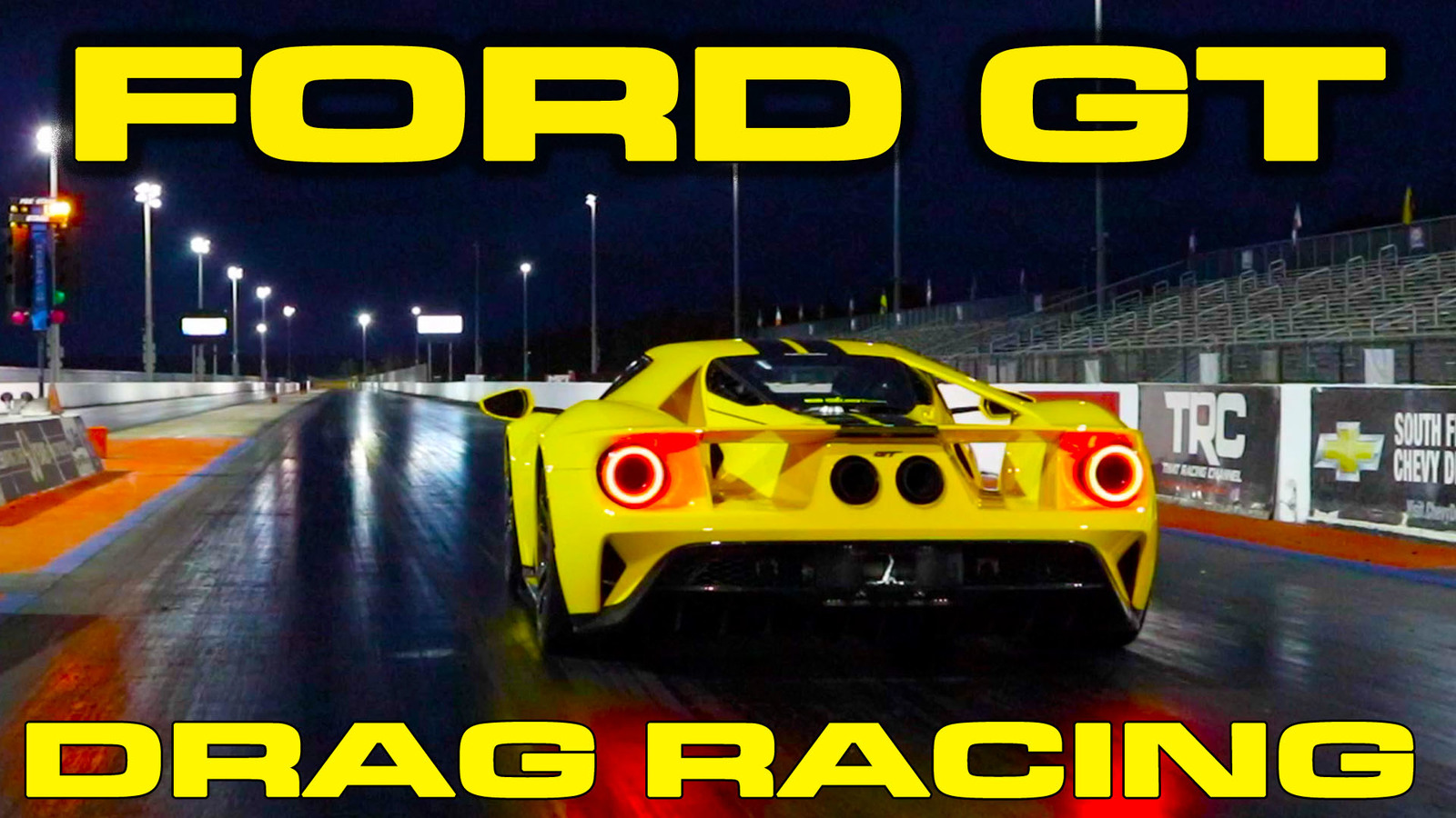 Triple Yellow 2018 Ford GT