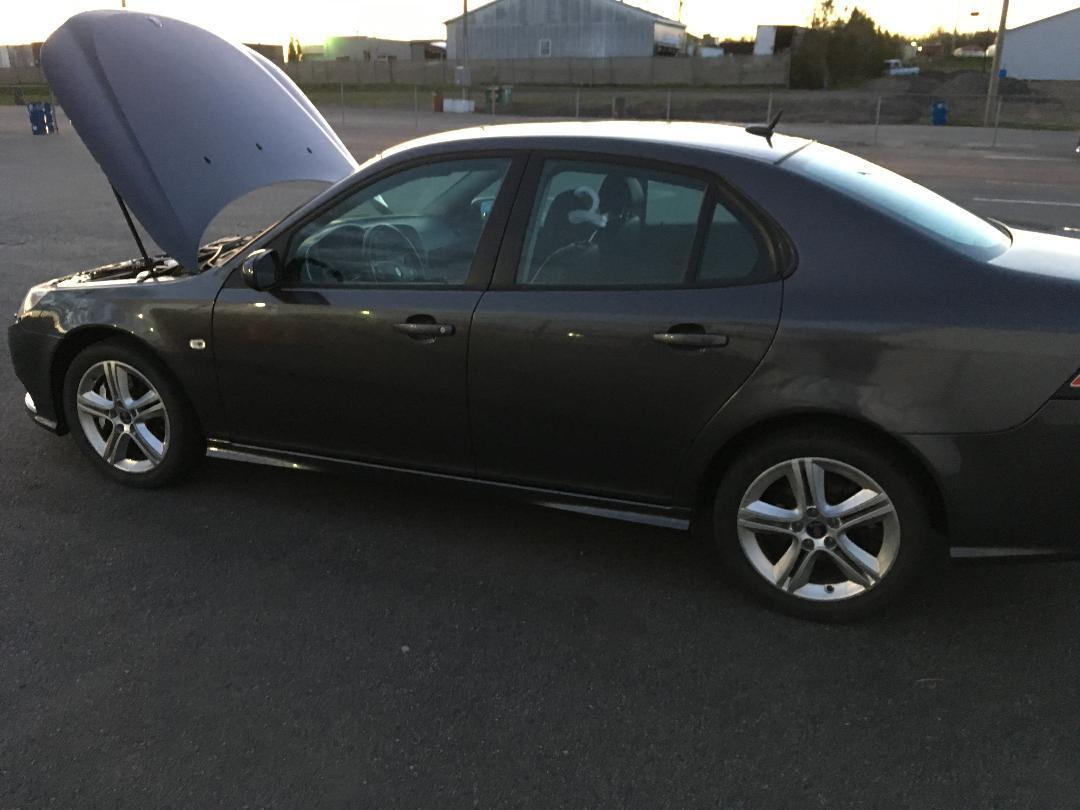 2009 Gray Saab 9-3 Aero 2.8T XWD picture, mods, upgrades