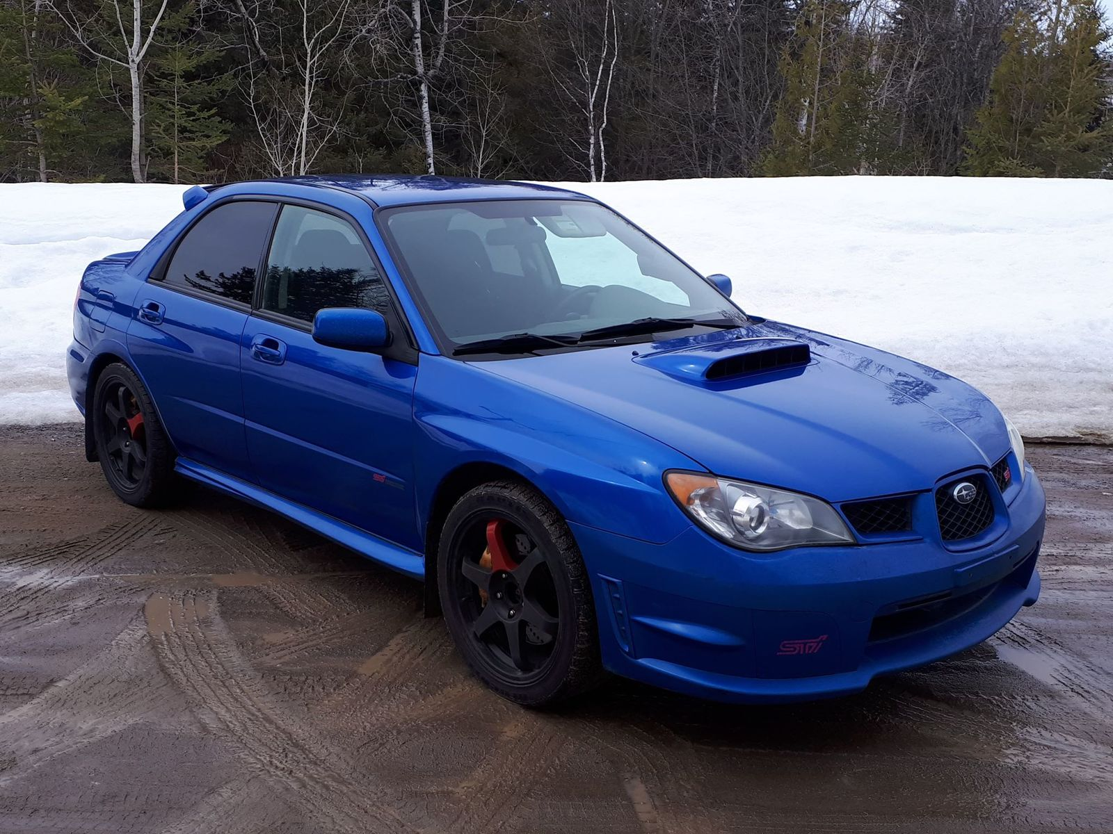 World Rallye Blue 2006 Subaru WRX STI