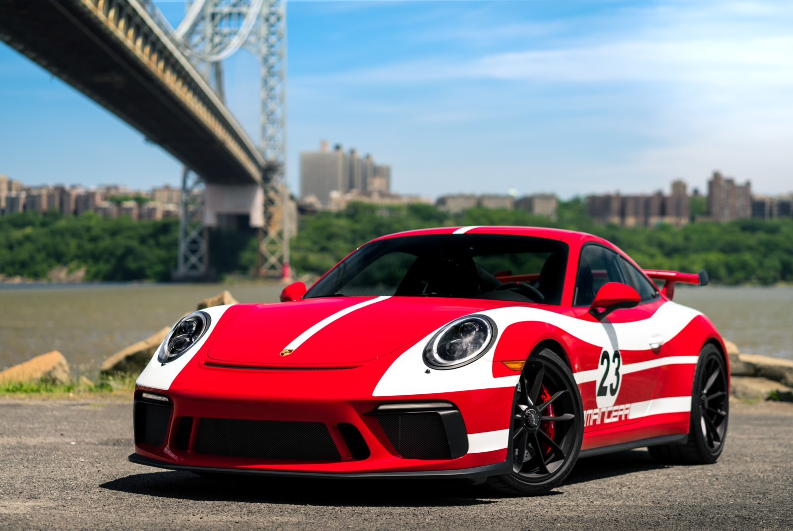2019 Guards Red Porsche GT3  picture, mods, upgrades