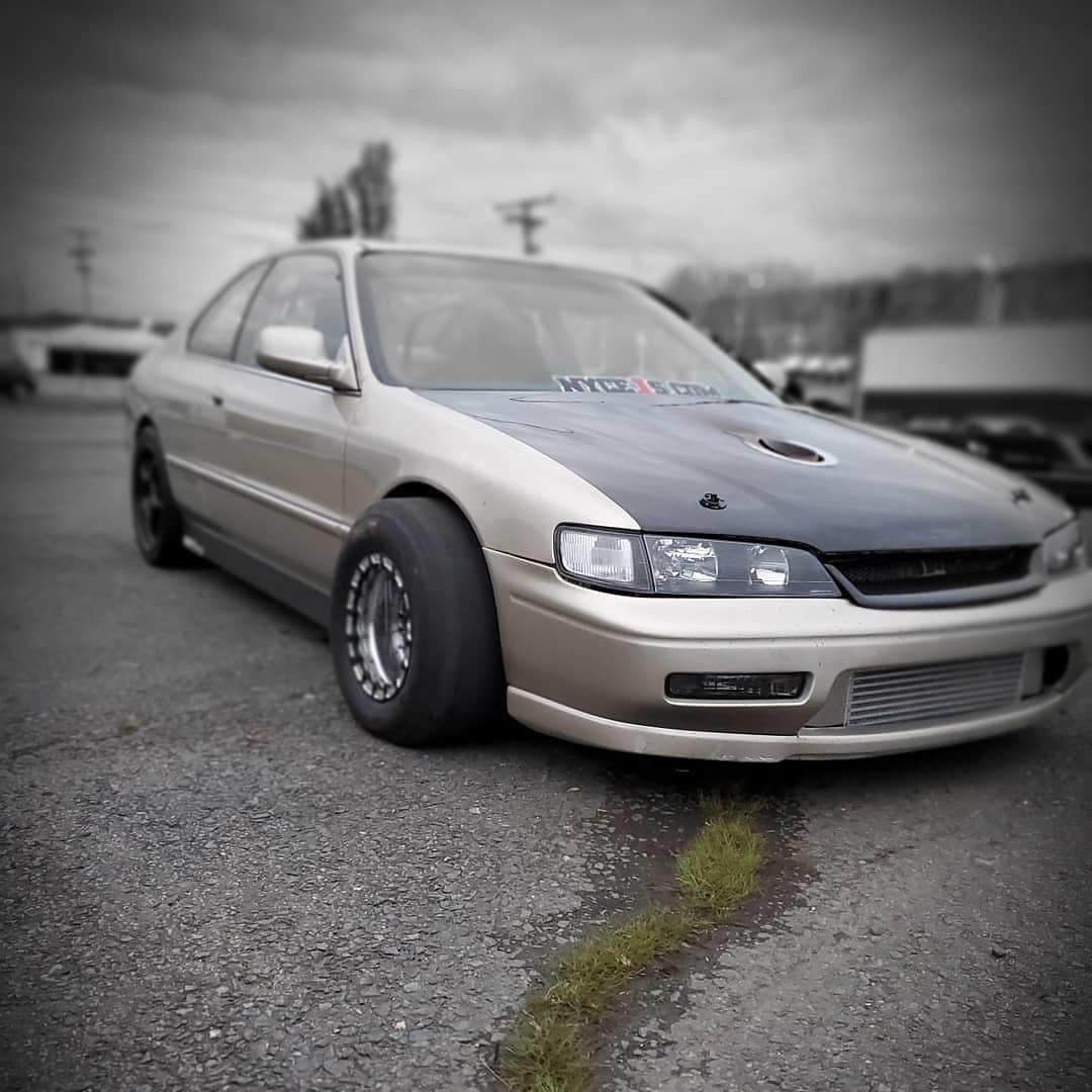 1994 Gold Honda Accord Ex picture, mods, upgrades