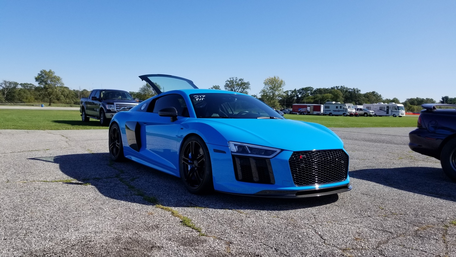 Mexico Blue  2017 Audi R8 V10 plus