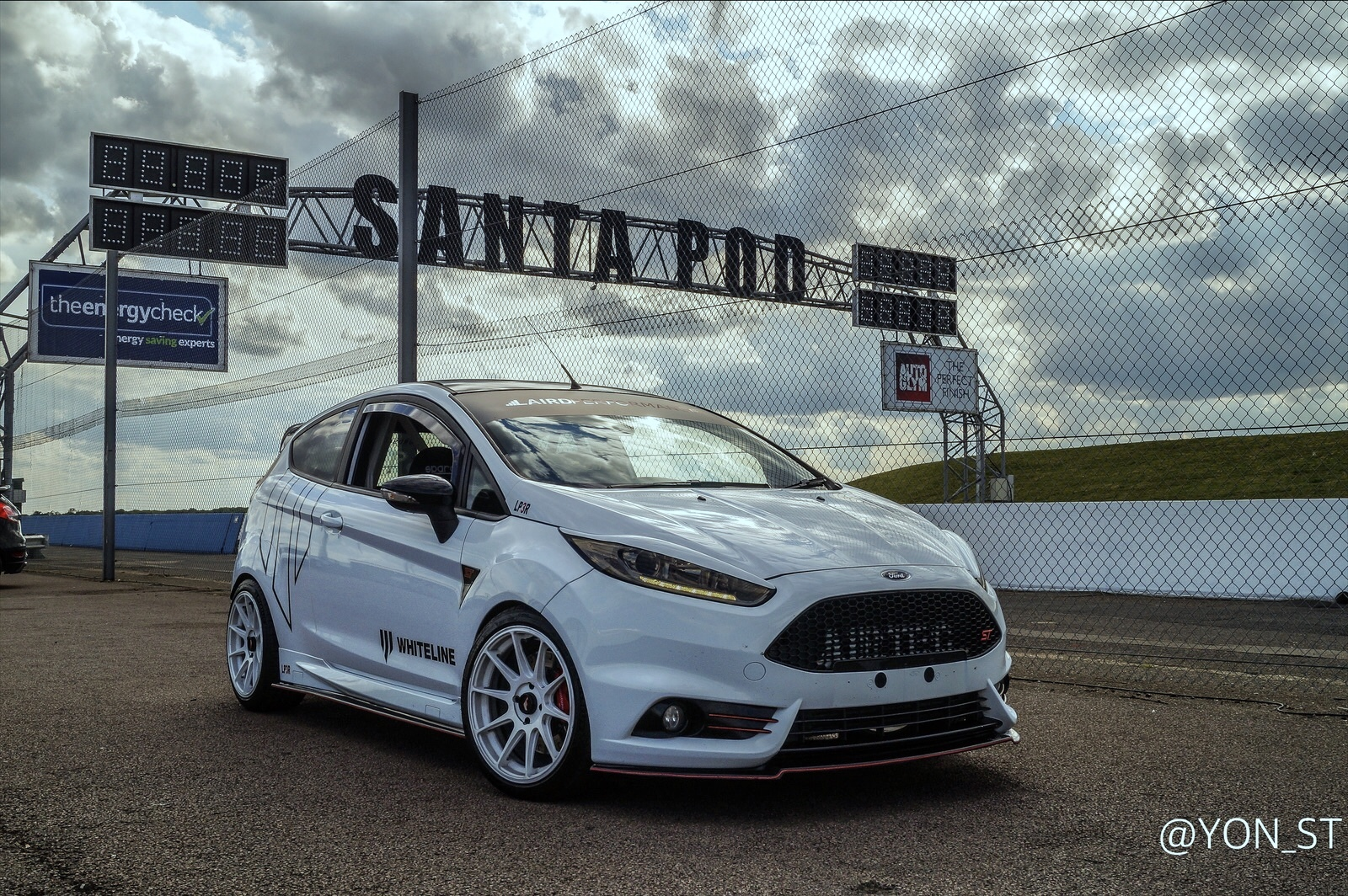 2014 Frozen White Ford Fiesta ST picture, mods, upgrades